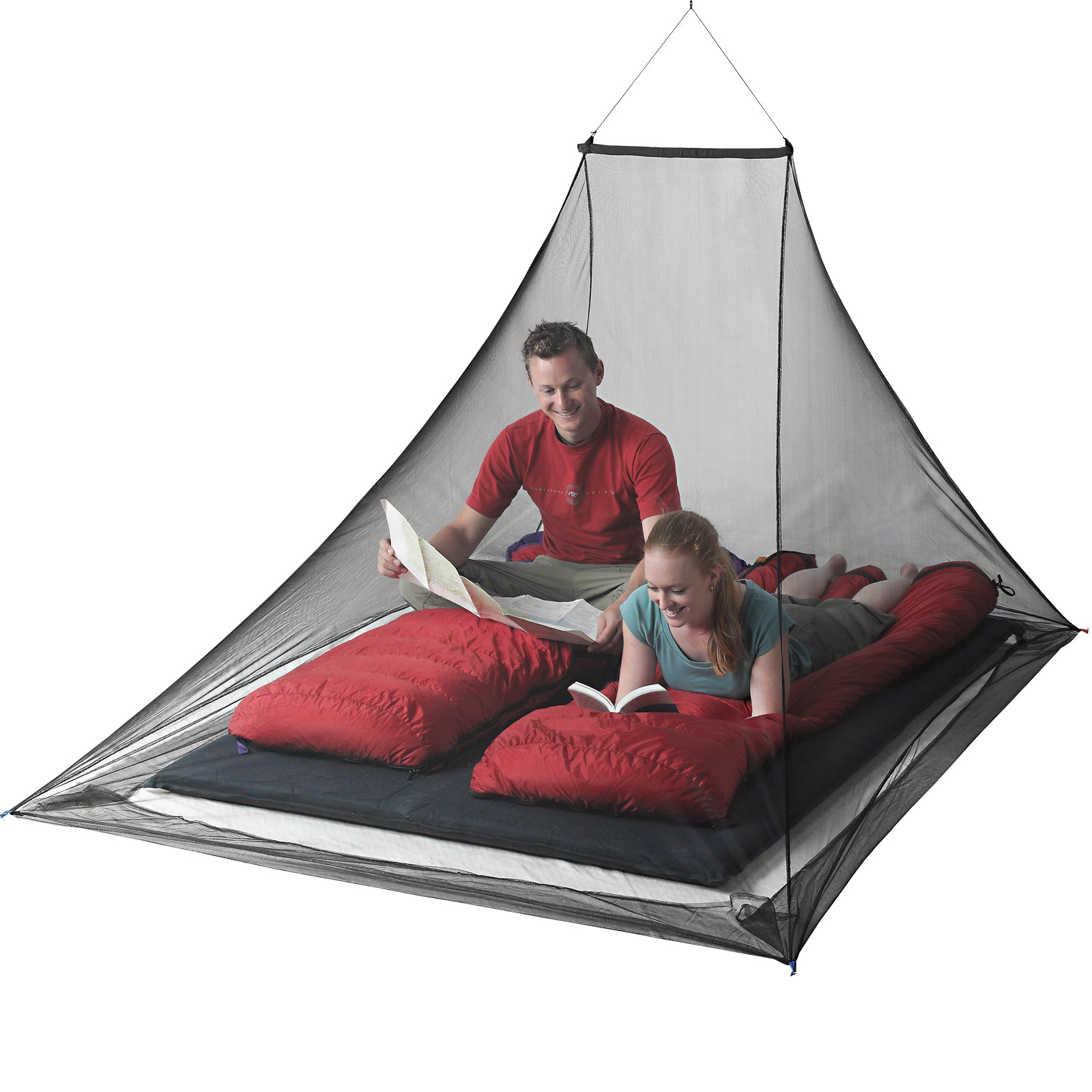 Mosquito Pyramid Net Shelter _ portable mosquito net _ insect shield _ double