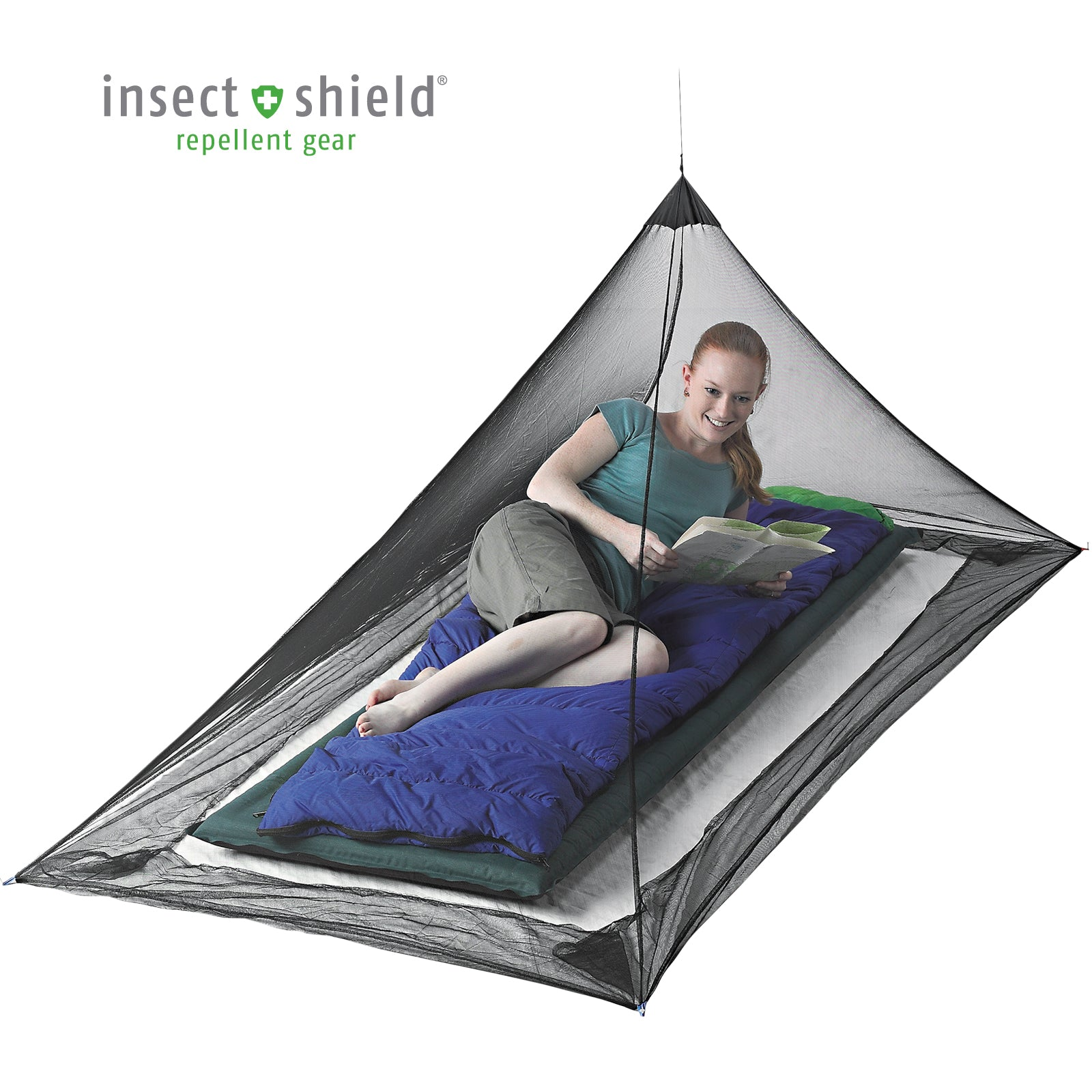 Mosquito Pyramid Net Shelter _ portable mosquito net _ insect shield