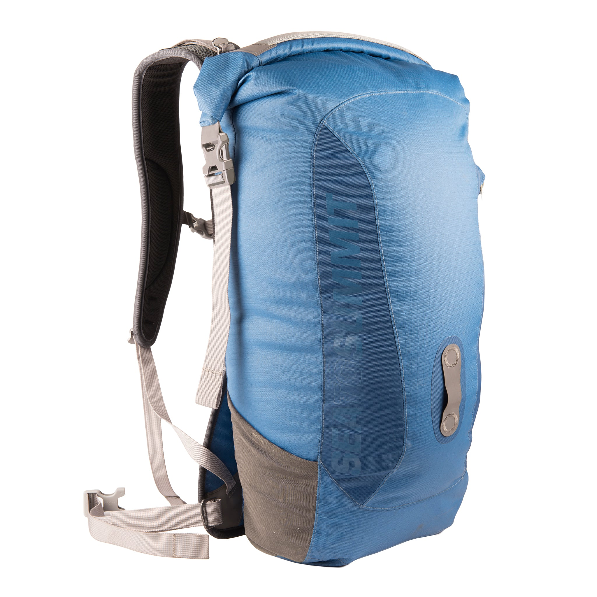 Rapid 26L Dry Pack _ dry bag backpack _ blue _ side