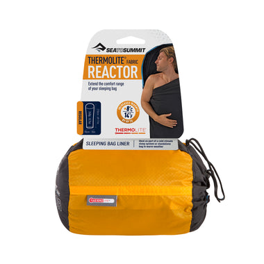 Reactor Thermolite Sleeping Bag Liner _ packaged