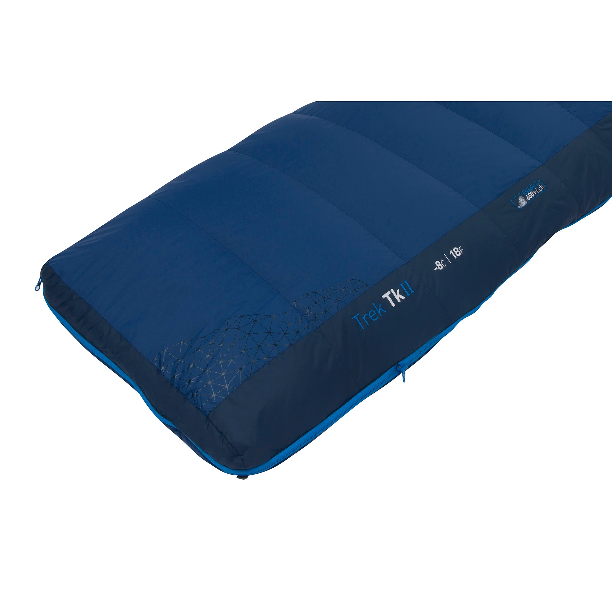 Trek Down Mummy Sleeping Bag _ foot box
