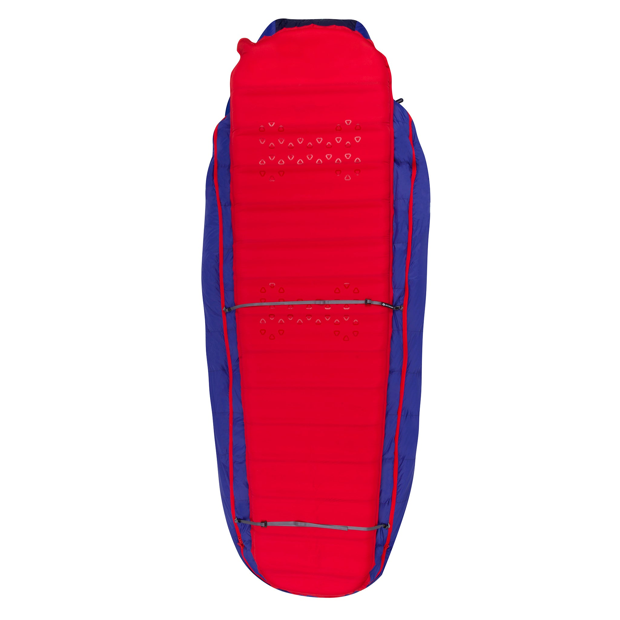 Explore Large Down Sleeping Bag _ sleeping pad attachment