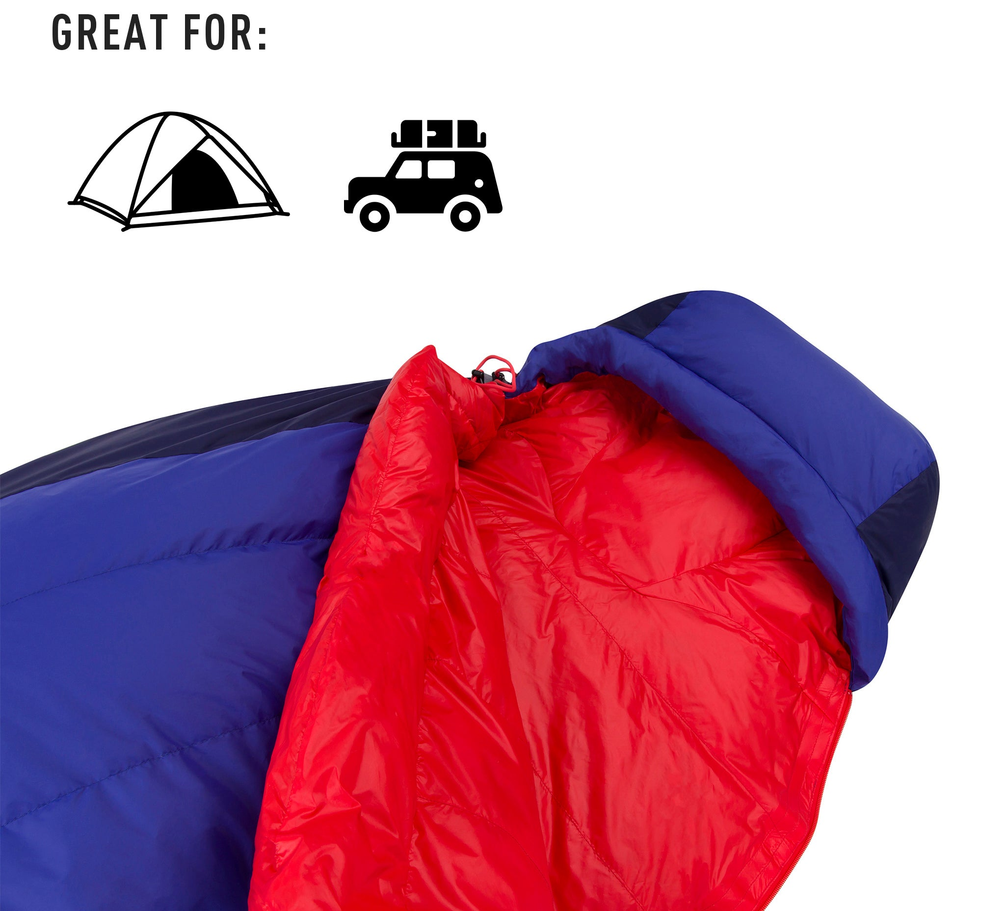 Explore Large Down Sleeping Bag _ regular