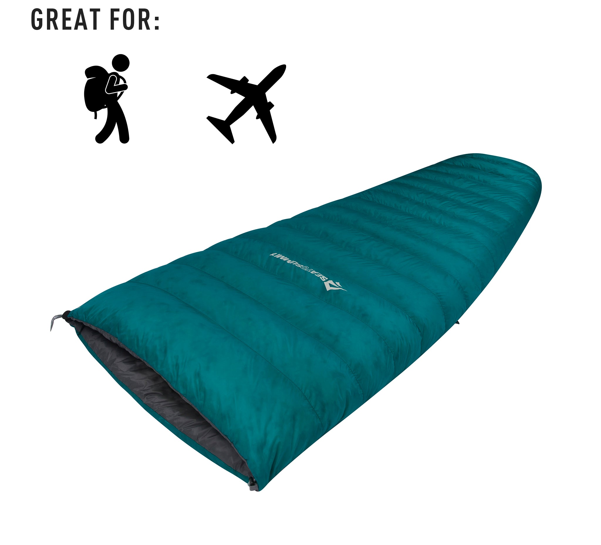 Traveller TR1 Down Sleeping Bag and Blanket _ camping and travel