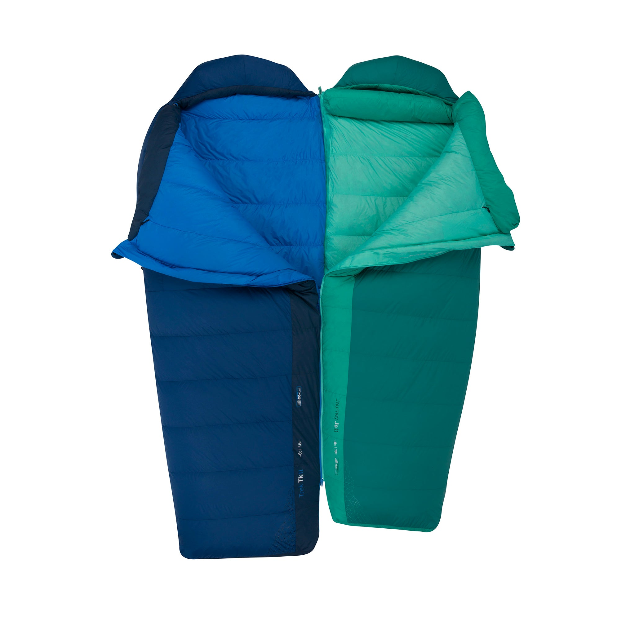 Trek Down Mummy Sleeping Bag _ double sleeping bag