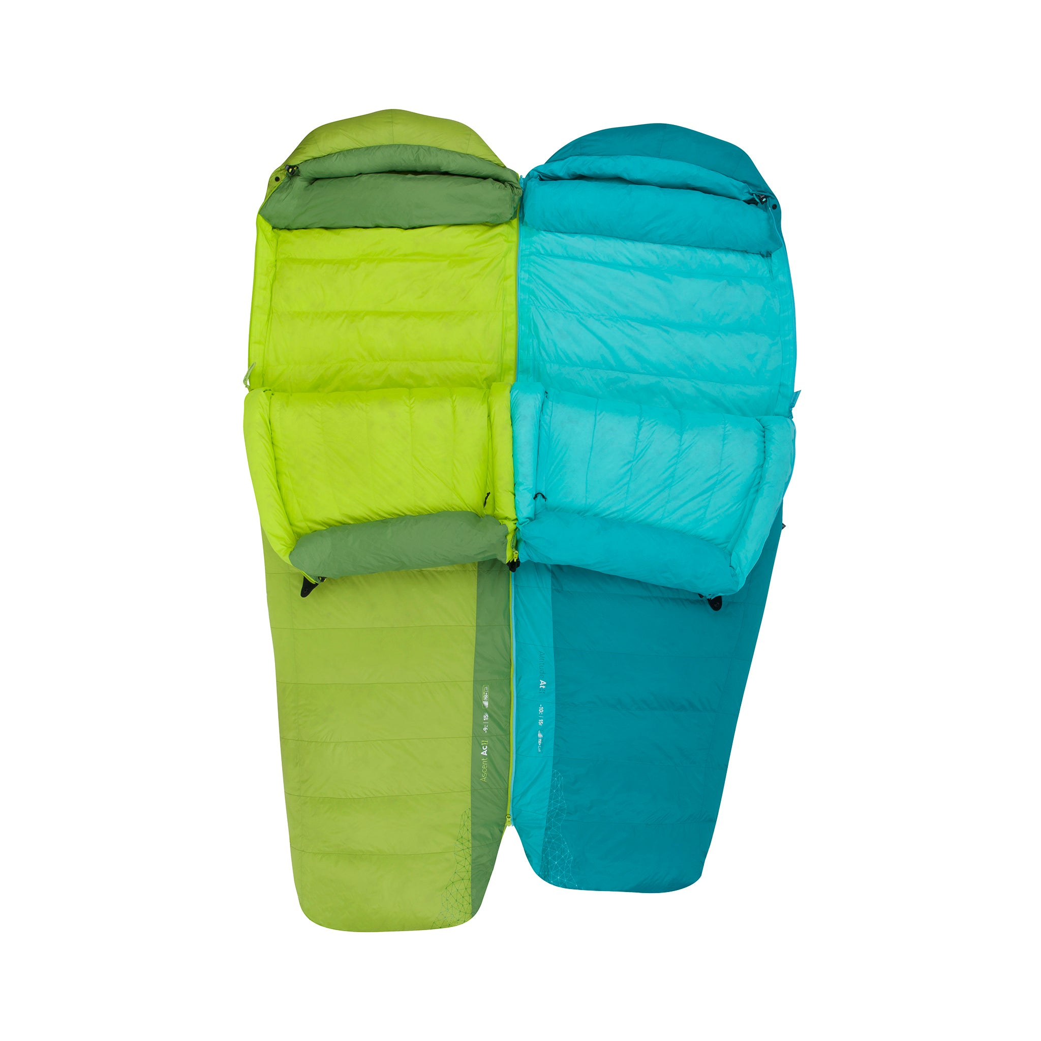 Ascent Down Mummy Sleeping Bag _ double sleeping bag
