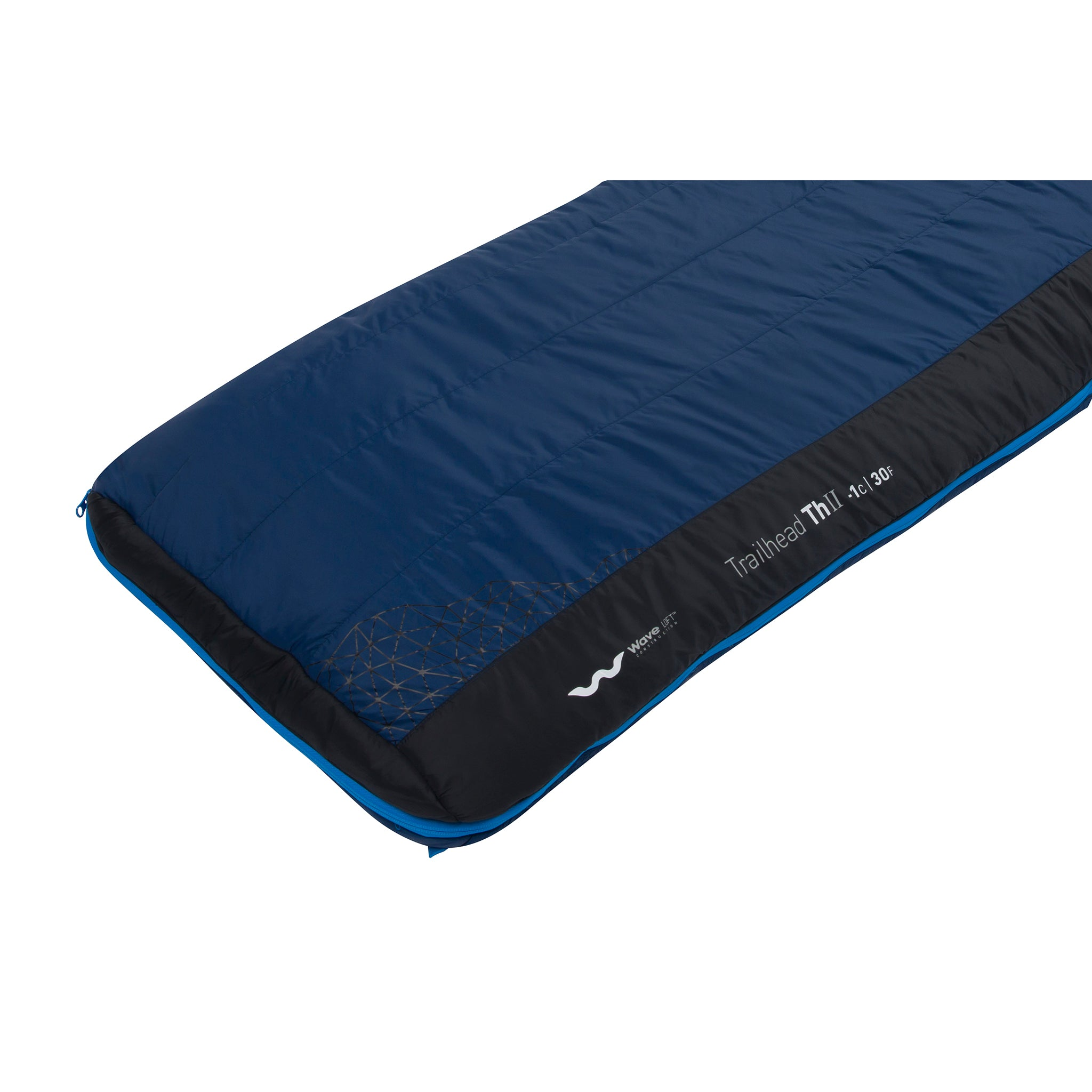 Trailhead Wide Down Sleeping Bag _ rectangular _ foot box