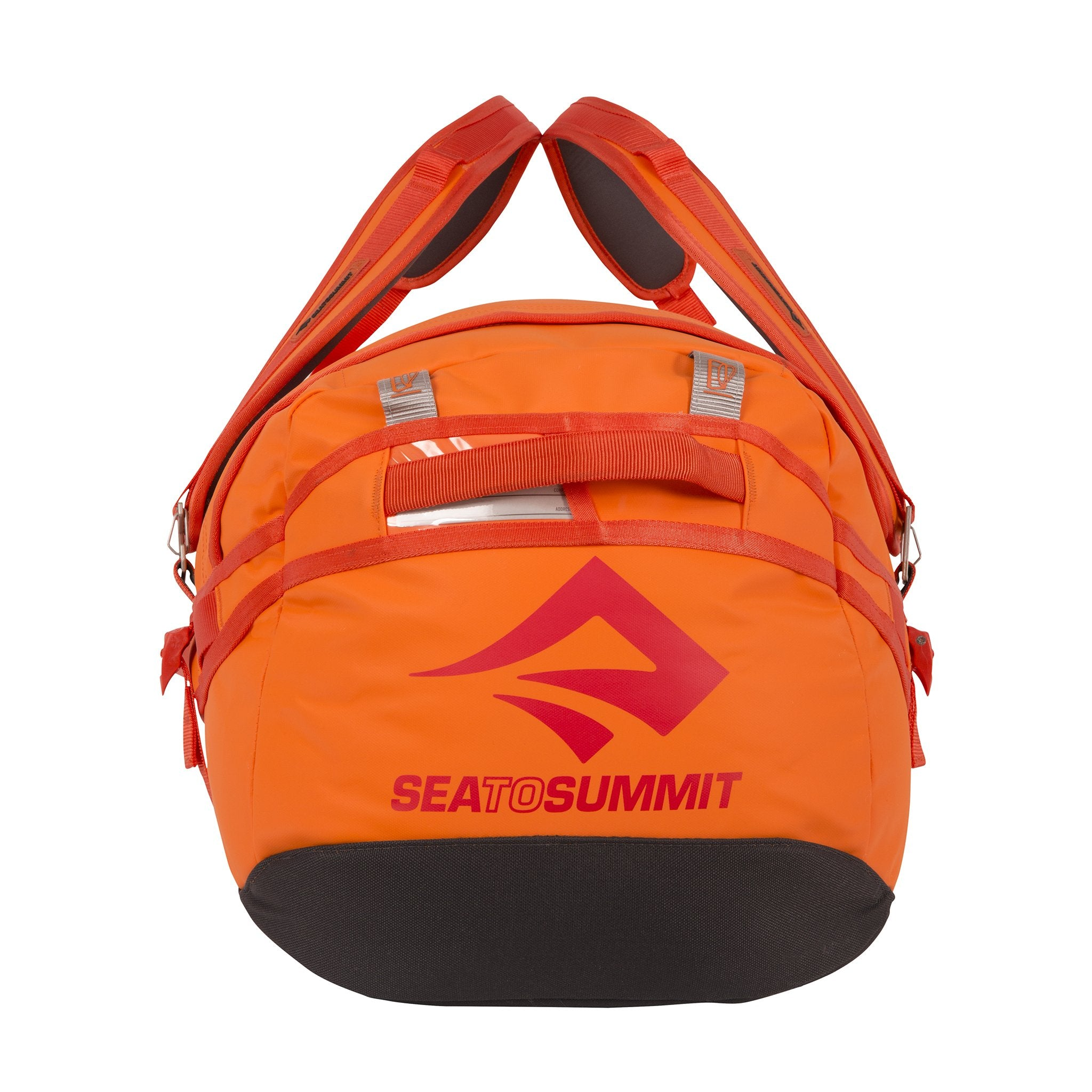Sea to Summit Duffel bag with backpack straps _ Orange