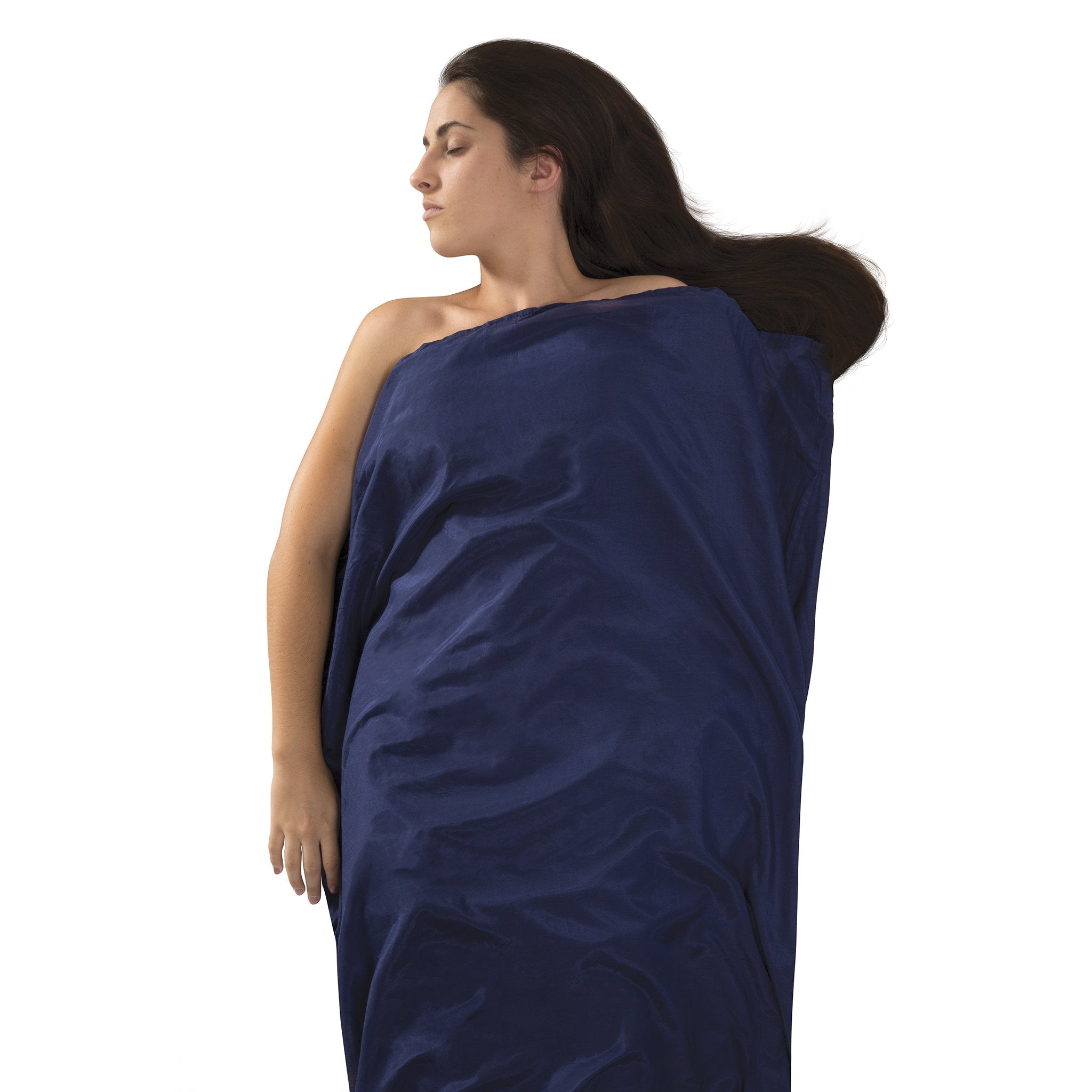 Silk-Cotton Blend Travel Sleeping Bag Liner _ rectangle