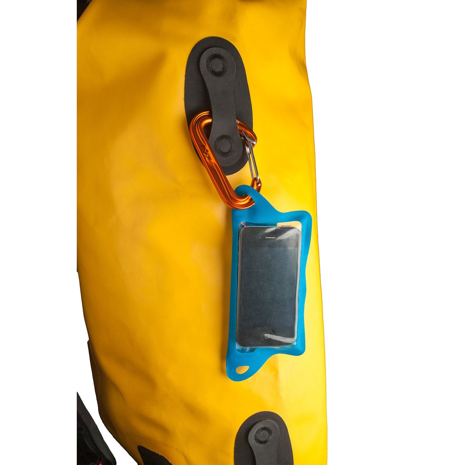 TPU Waterproof Case for Phone attached to dry bag