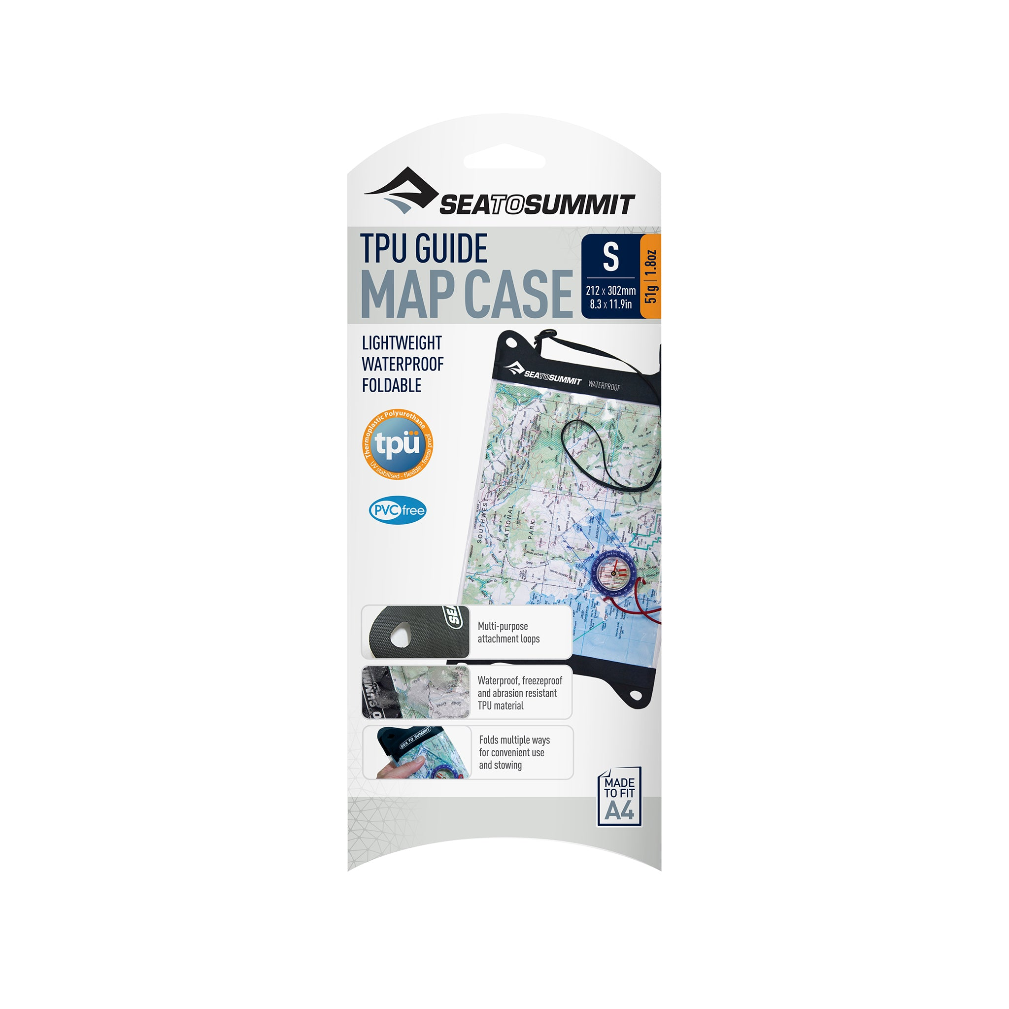 TPU Guide Map Case _ waterproof map holder and protector _ small