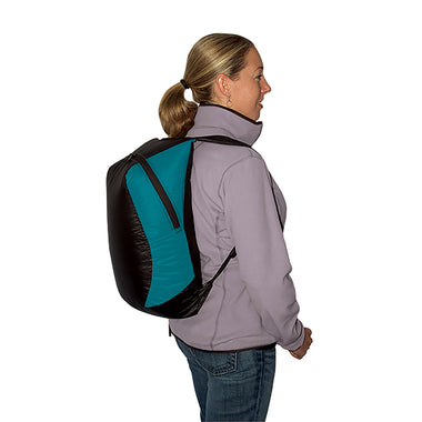 Travel Daypack _ pacific blue
