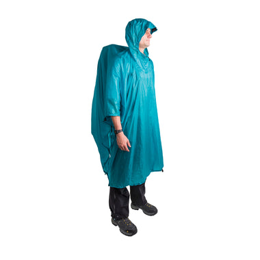 Ultra Sil Nano Rain Poncho _ blue _ backpacking