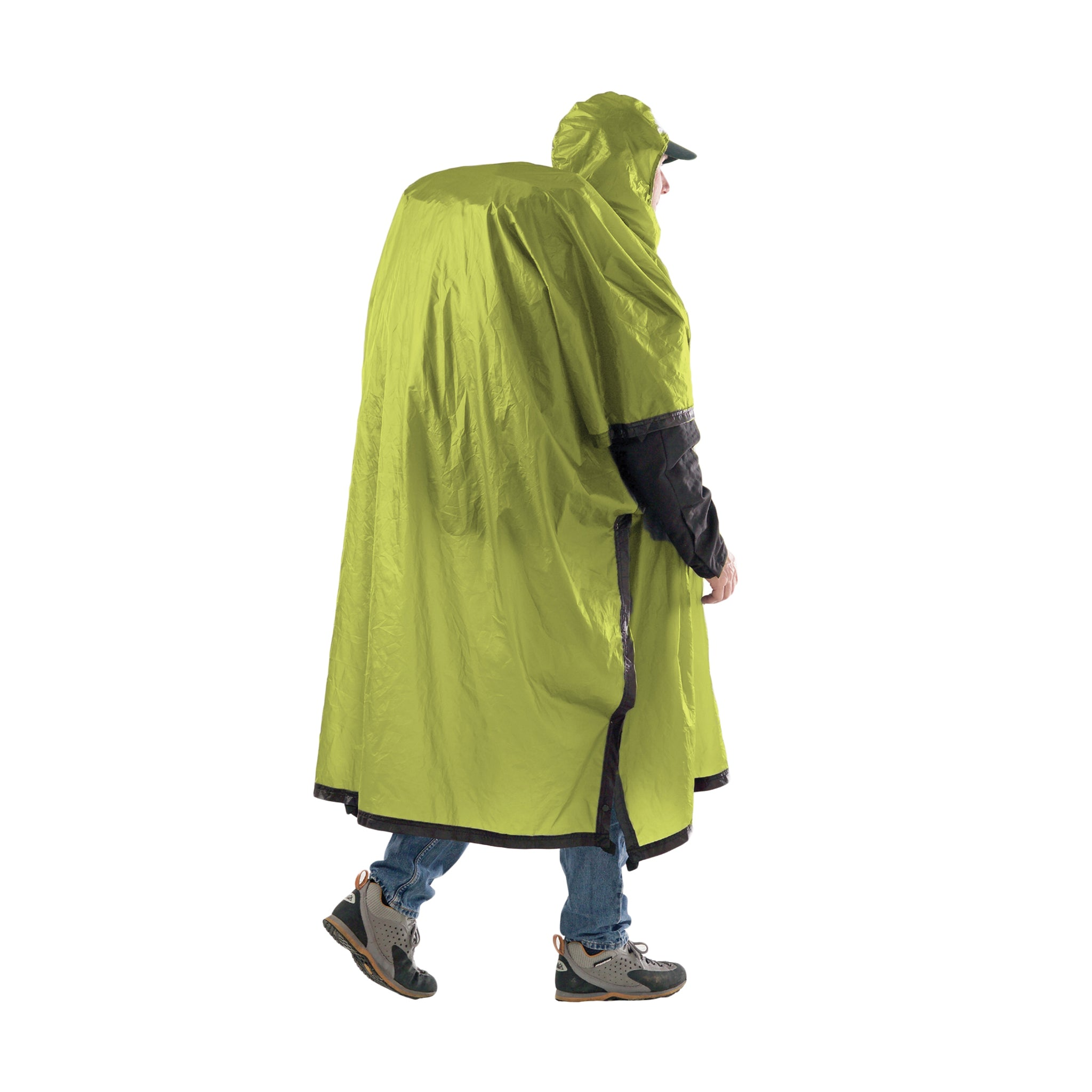 Ultra Sil Nano Rain Poncho _ green _ backpacking