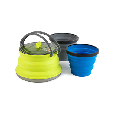 X-Set 11 set _ collapsible cookware _ pot kettle cup