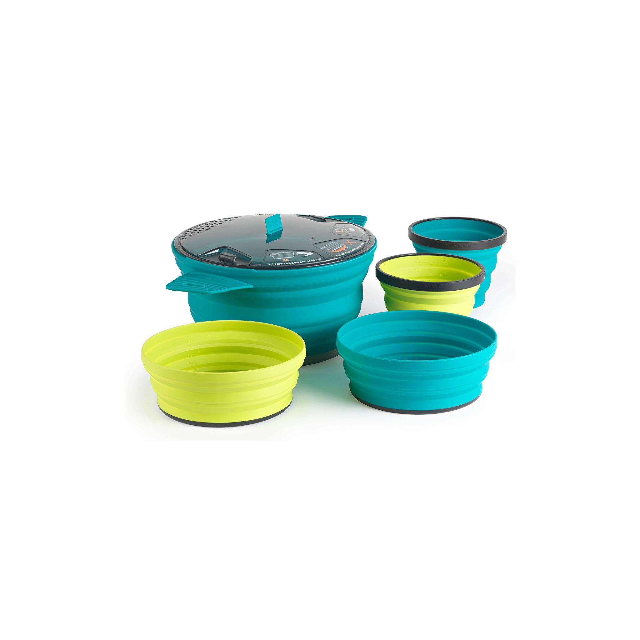 X-Set 31 Set _ backpacking collapsible cookset _ X-Pot X-Bowl X-Cup _ two person
