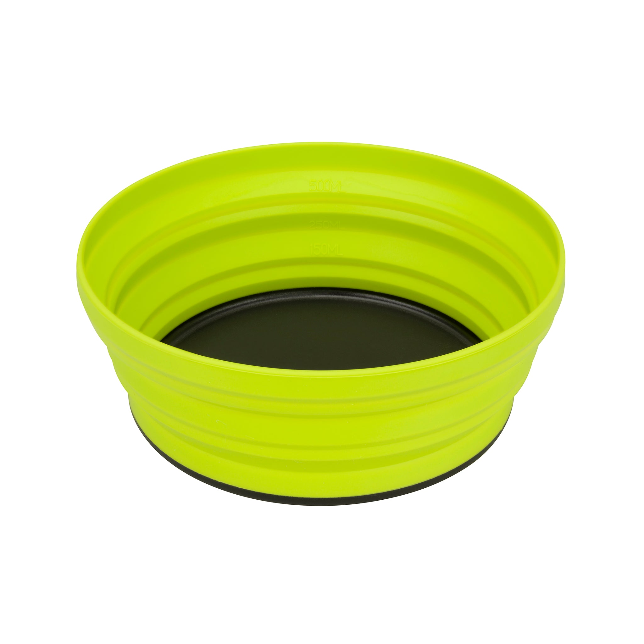 X-Bowl _ collapsible _ lime _ backpacking bowl