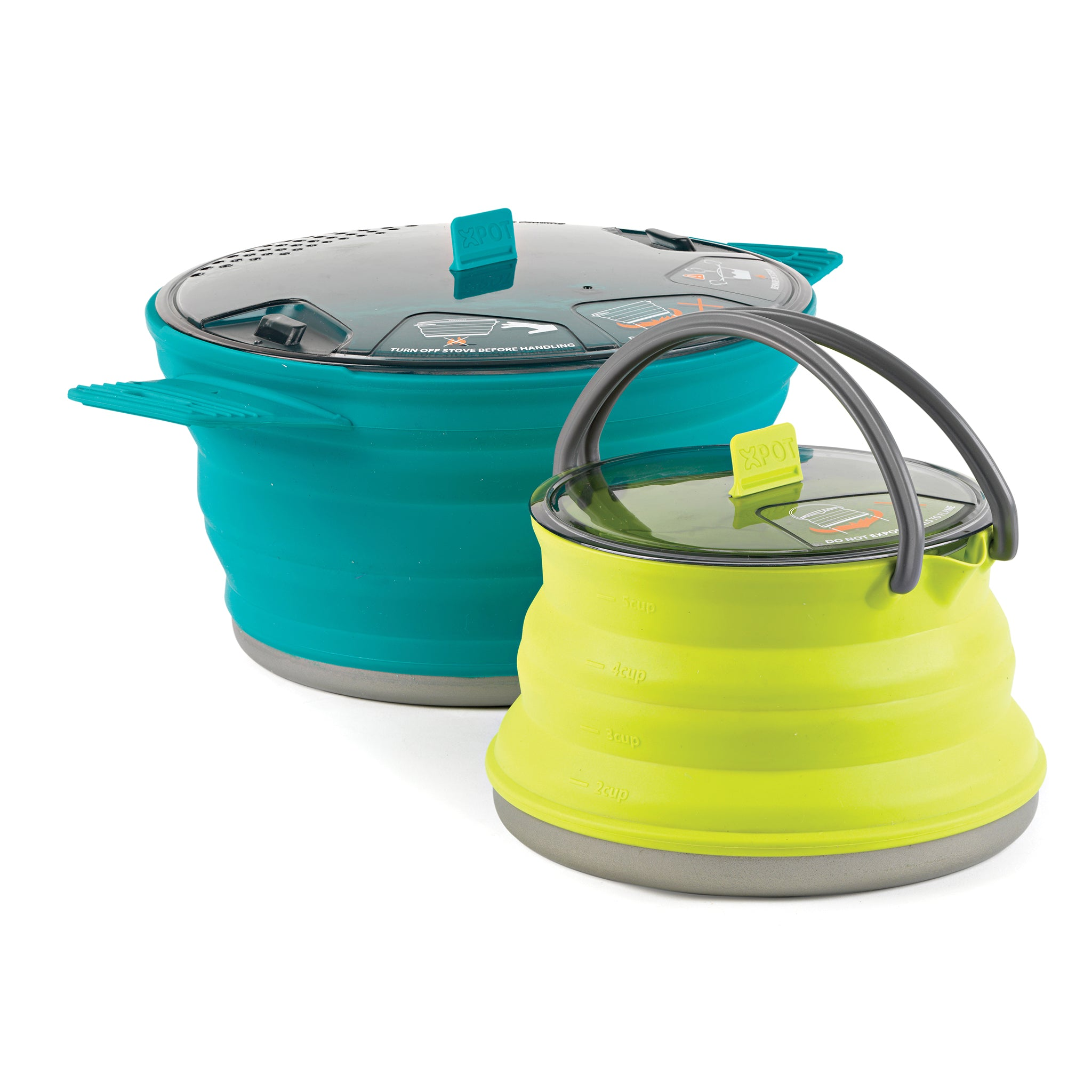 X-Set 33 set _ collapsible backpacking cookware