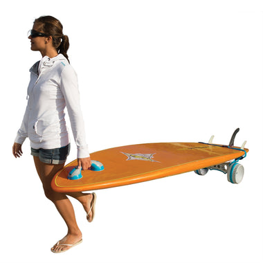 XT SUP Board Cart _ collapsible and portable _ rugged terrain