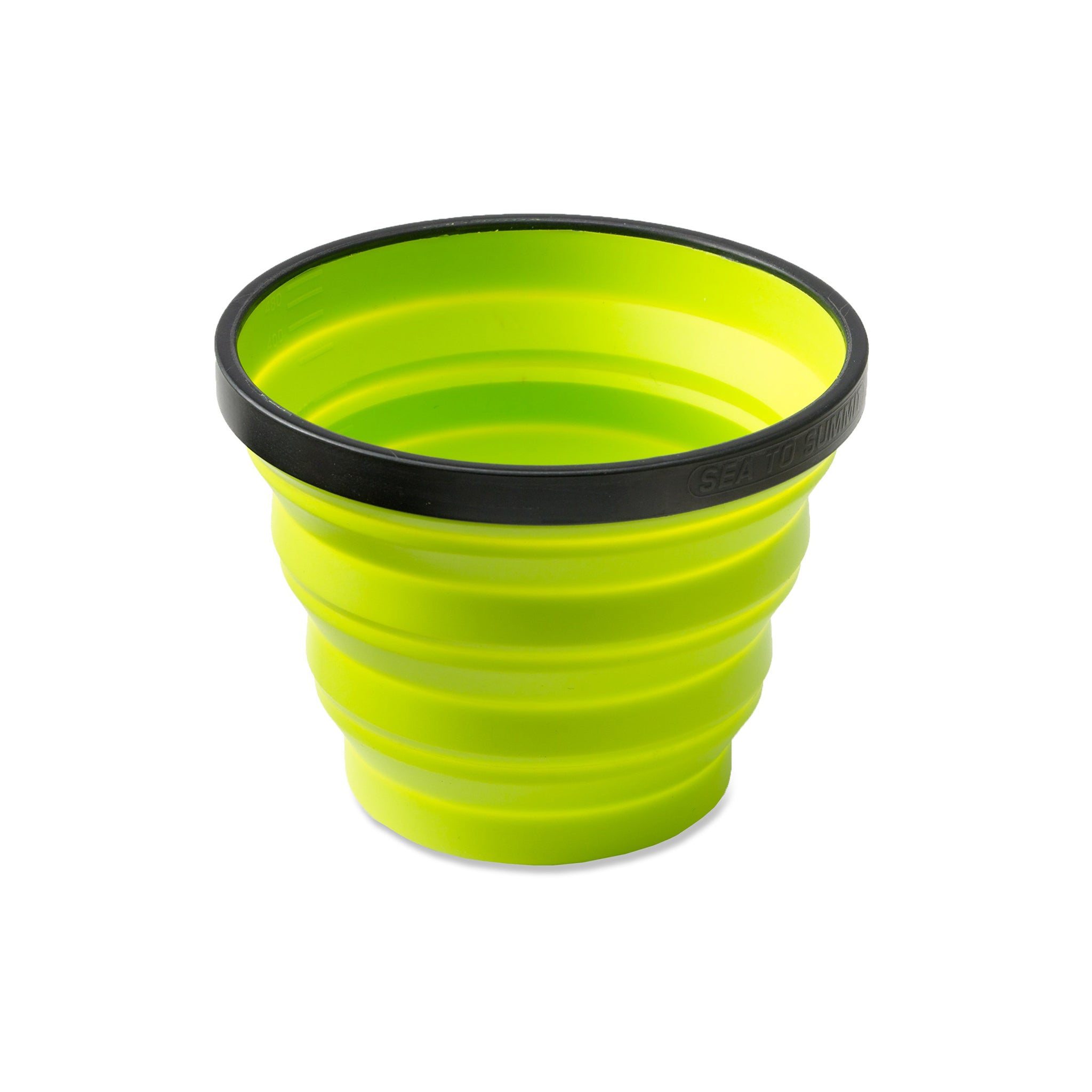 X Cup _ lime _ backpacking collapsible cup