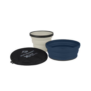 X-Set 2-Piece: X-Bowl & X-Mug with X-Pouch