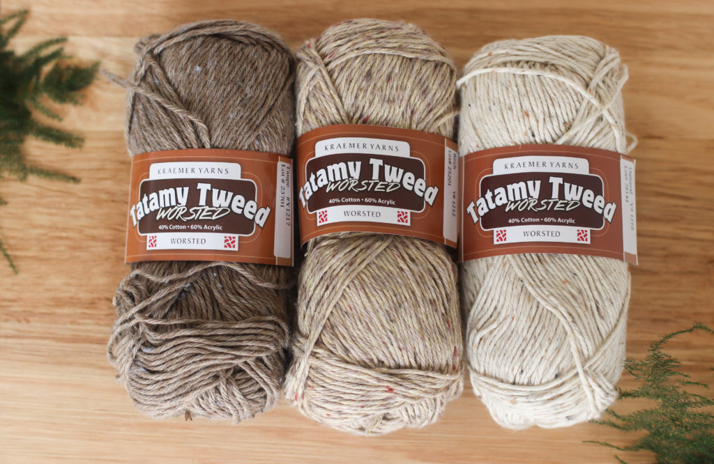 Tatamy Tweed Worsted | Yarn review