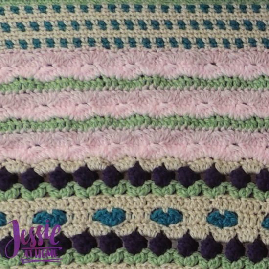 Janet's Garden - Part 9 - CAL for October - Classic Crochet Stitch