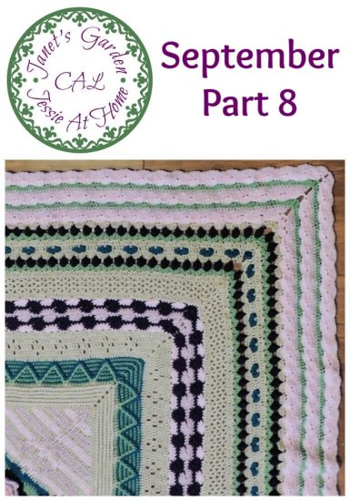 Wavy Crochet Fun – Janet's Garden CAL September