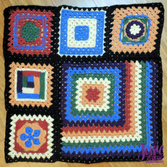 Granny Square Sampler Beginnings – Ginny's Grannies CAL Part 1