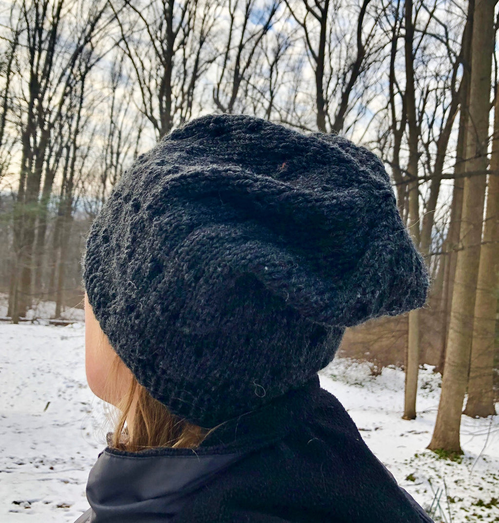Oh Yum, Bubblegum Slouchy Hat  - Designed by Eleanor Swogger