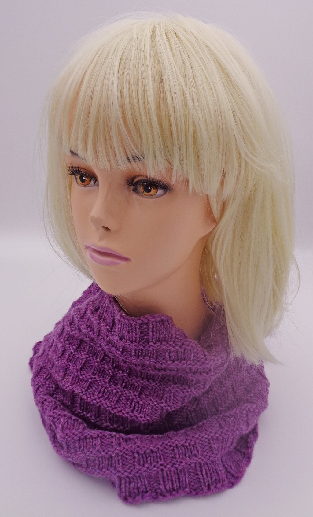 Basketweave Cowl - Designed by Stephanie Boozer