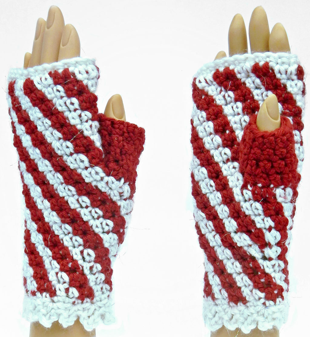 Peppermitt Twist Mitts Kit - Designed by Karen McKenna