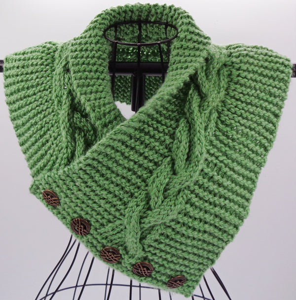Tobyhanna Creek Cowl Kit - Designed by Clara Masessa