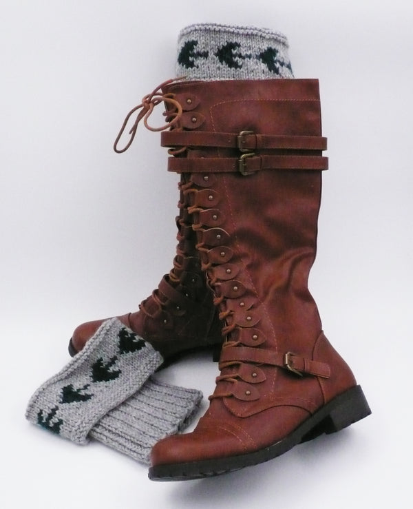 Arrow Boot Toppers - Designed by Laura L'esperance