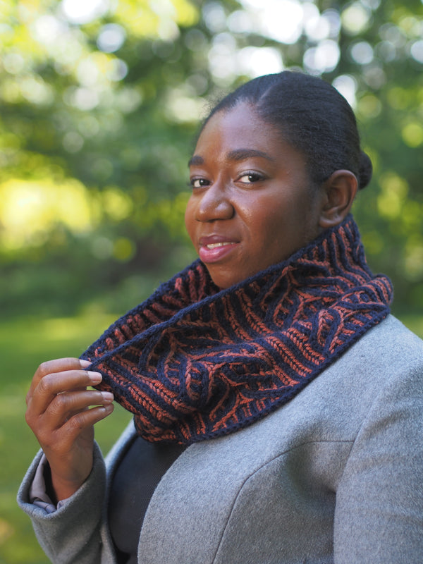 Pine Hollow Cowl - Designed by Vanessa Ewing