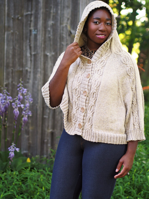Mythical Heart Cardi-Cape - Designed by Vanessa Ewing