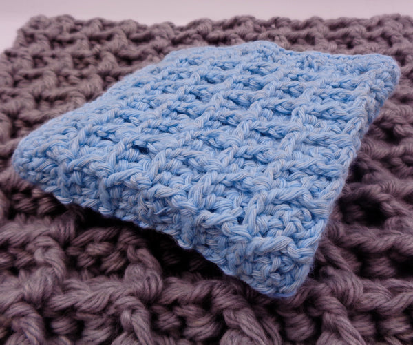 Waffle Washcloth  Crochet Kit - Designed by Beth Aidala