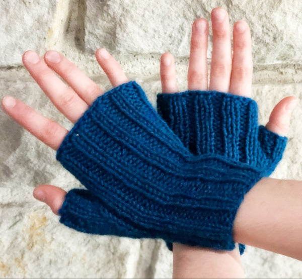 Perfect Fit  Fingerless Mitts - Designed by Stephanie Boozer