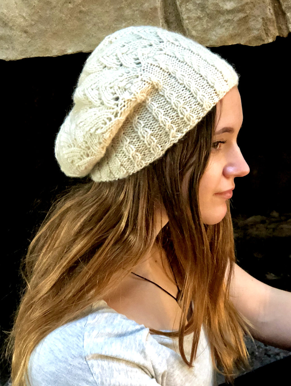 It All Comes Together Beret  - Designed by Kate Lemmers