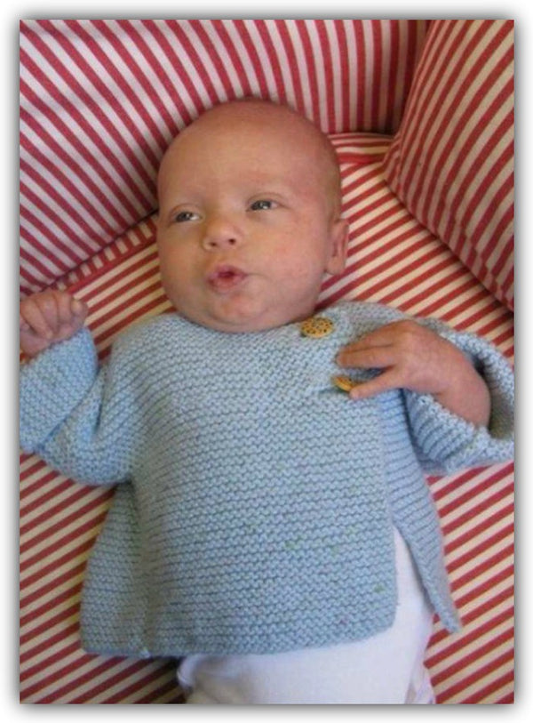 Knit for Baby Sweater  - Designed by Judy Head