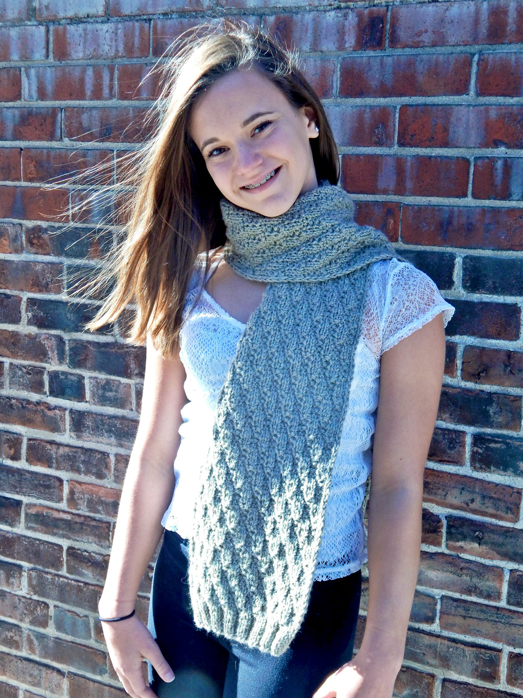 Mr. Rochester's Scarf - Designed by Stephanie Boozer