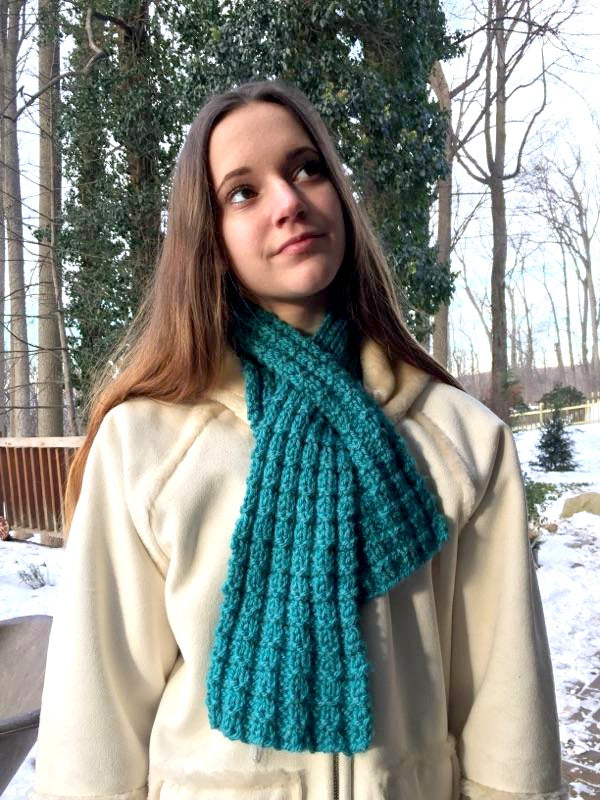 Mum's Neck Cozy  - Designed by Stephanie Boozer
