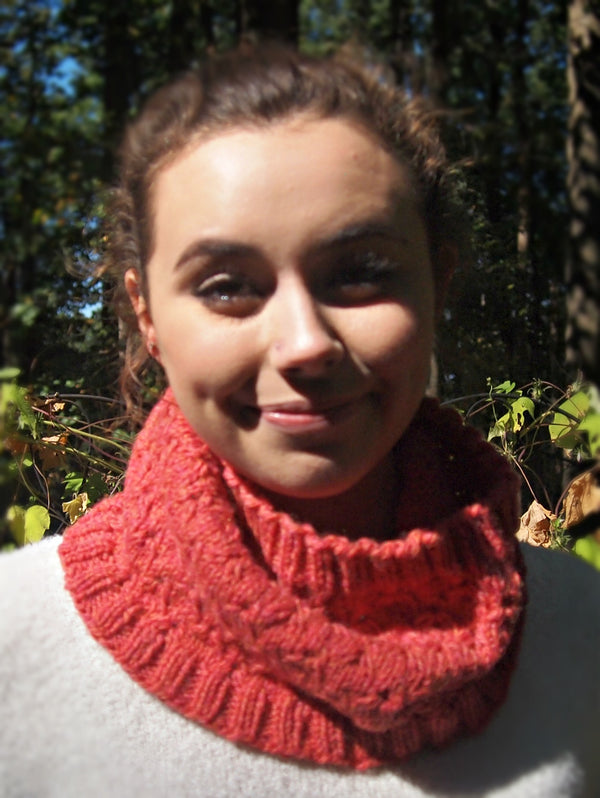Oak Grain Cowl  - Designed by Stephanie Boozer