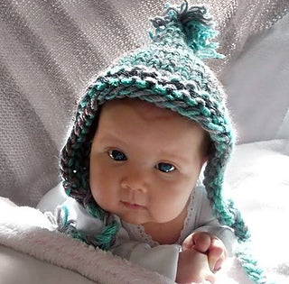 One Hour Baby Hat  - Designed by Kat Koeler