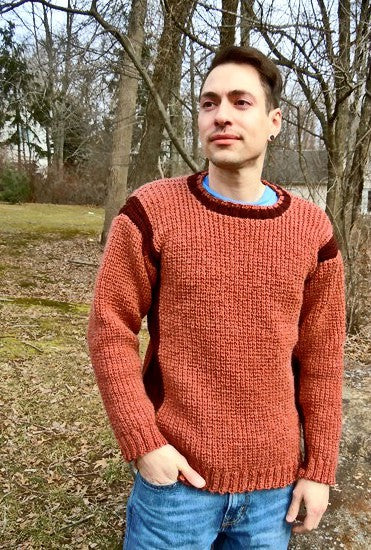 Sidewinder Sweater  - Designed by Kate Lemmers