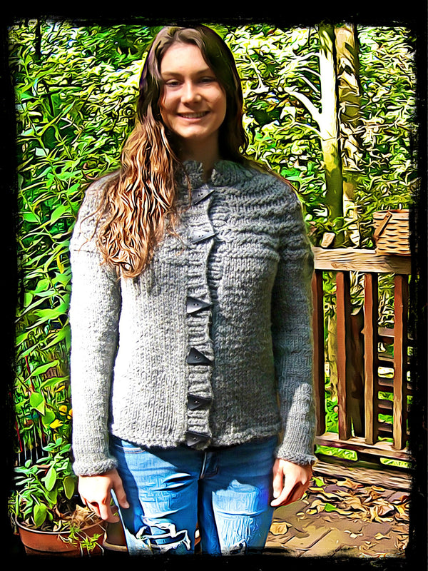 Steel City Sweater  - Designed by Clara Masessa