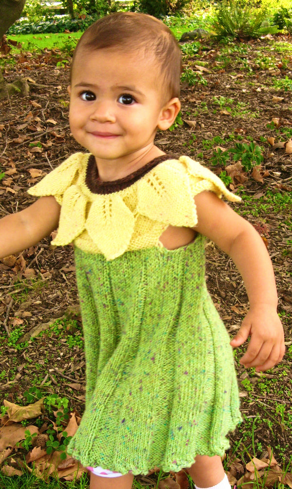 Sunflower Dress  - Designed by Clara Masessa