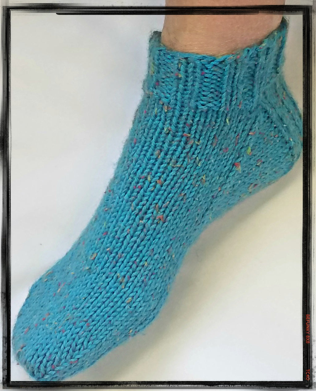 Worsted Ankle Socks  - Designed by JoAnne Turcotte