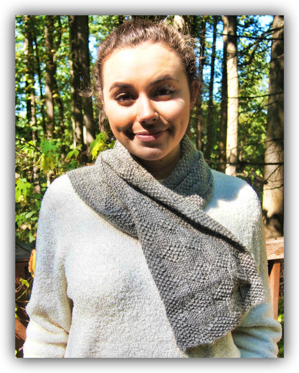 Borrowed Scarf - Designed by Jan Bellhorn