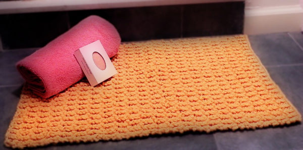 Broken Rib Bath Mat - Designed by Kathy Zimmerman